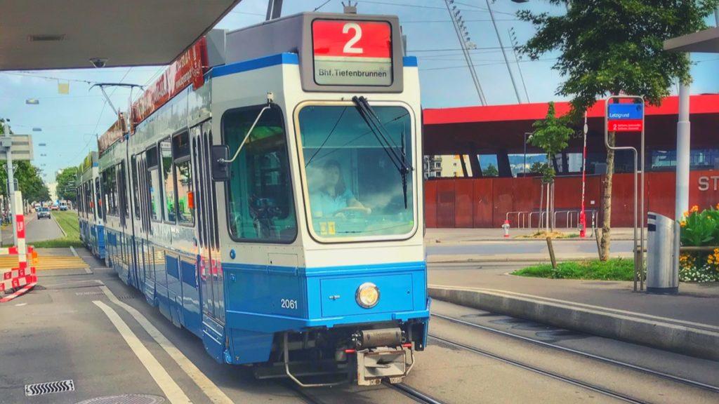 Tram in Zürich, Switzerland 🇨🇭 2019