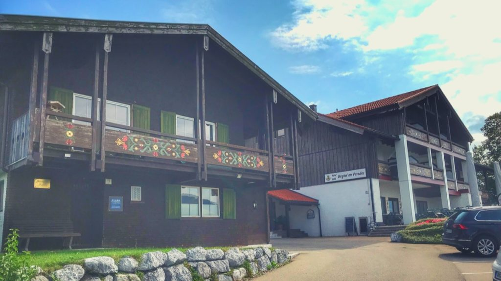 the Cafe Paradies resort