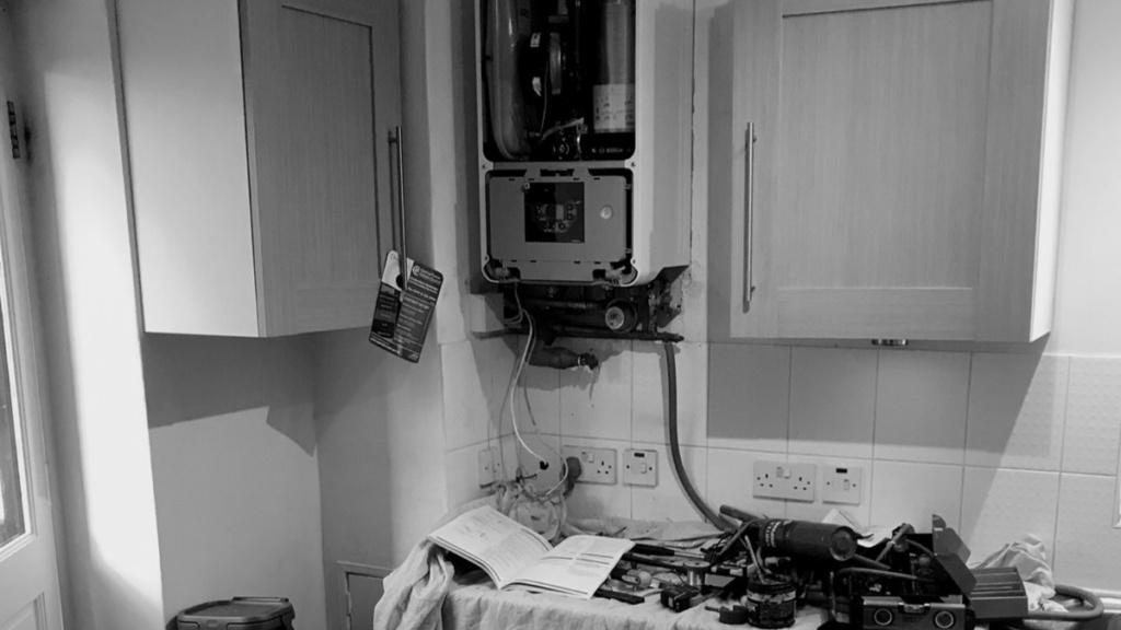 Broken boiler, we need a new one