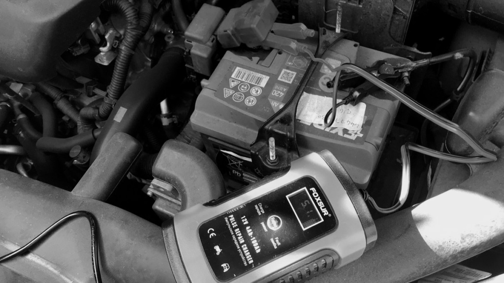 Flat battery, we are not going anywhere